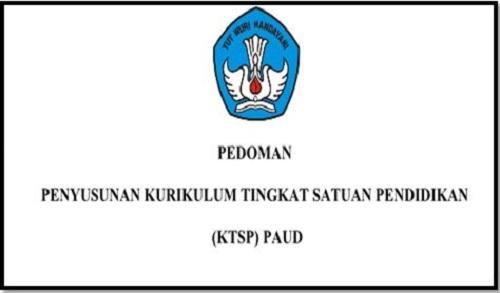 Download Buku Pedoman Penyusunan Kurikulum KTSP PAUD