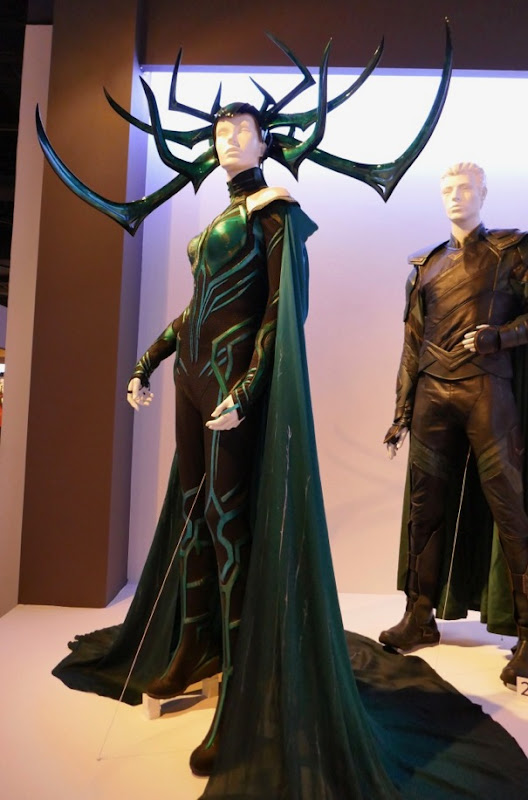 Hollywood Movie Costumes and Props Hela Valkyrie Loki and Thor Ragnarok movie costumes on
