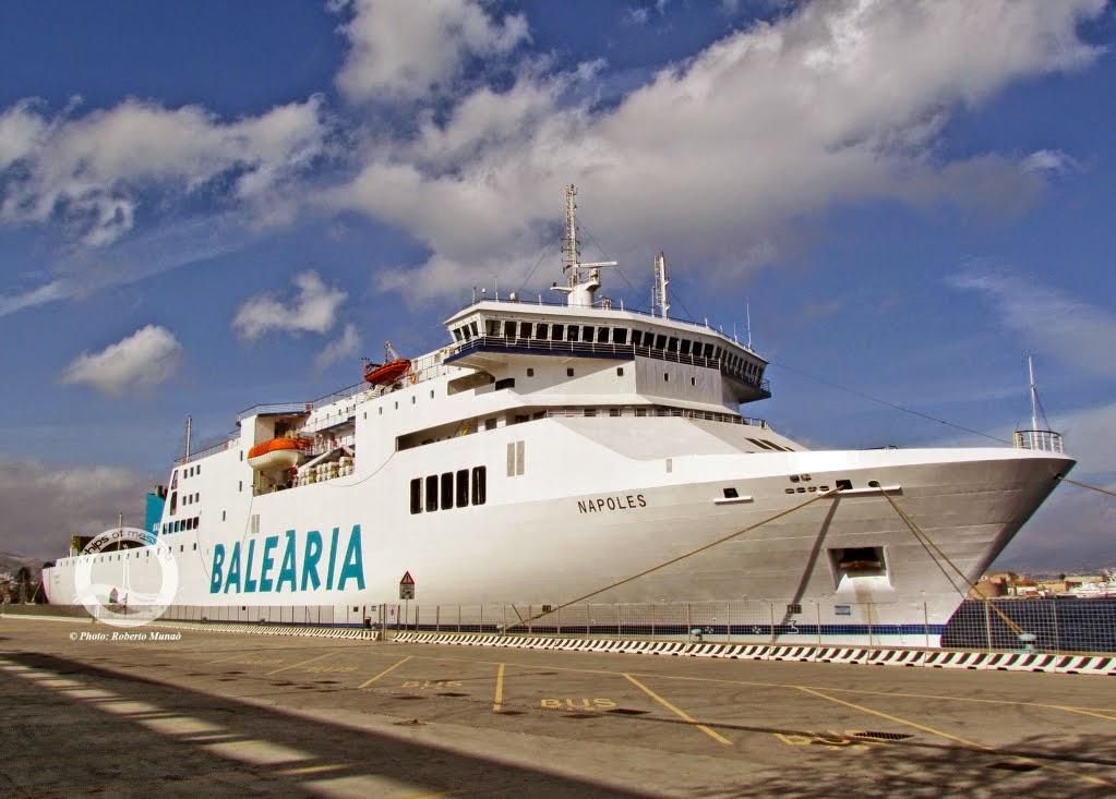 ferrybalear el nuevo buque napoles de bale ria se