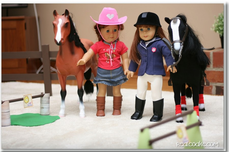 Doll  Horse Show Riding Fun American Girl Crafts-3090