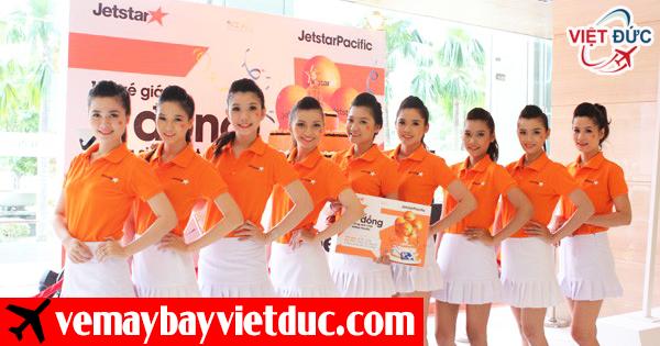 Đại lý bán vé máy bay Jetstar chính hãng