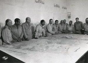 Οι ηγέτες του αιγυπτιακού στρατού στις 6 Οκτωβρίου 1973
