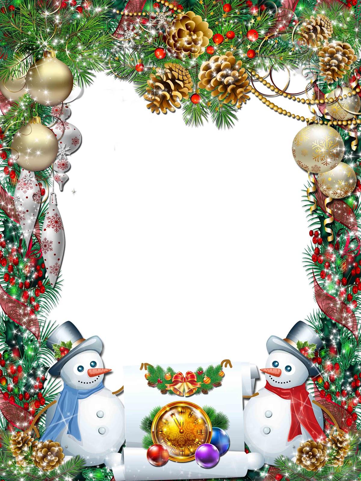 Christmas png frame | elxa