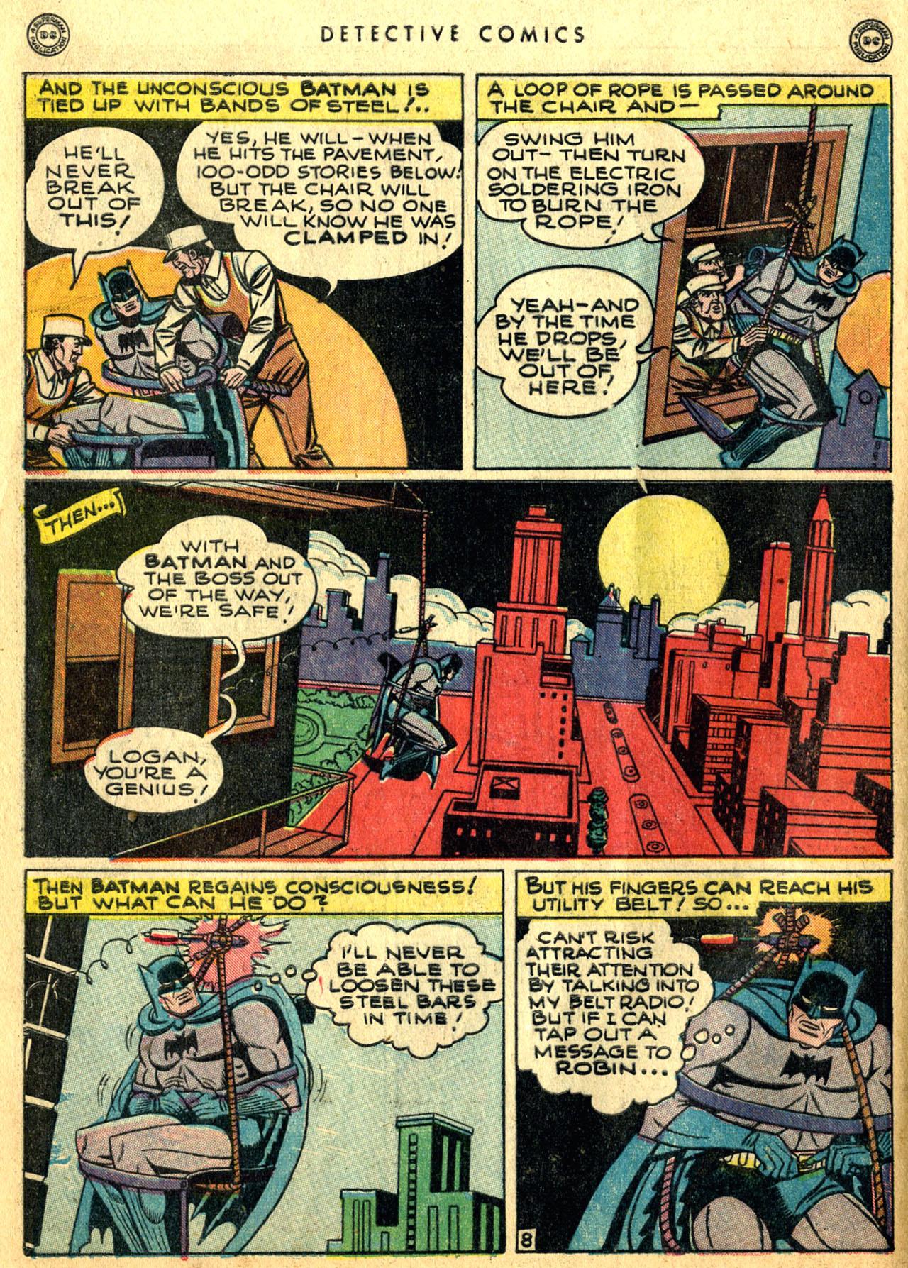 Read online Detective Comics (1937) comic -  Issue #117 - 10