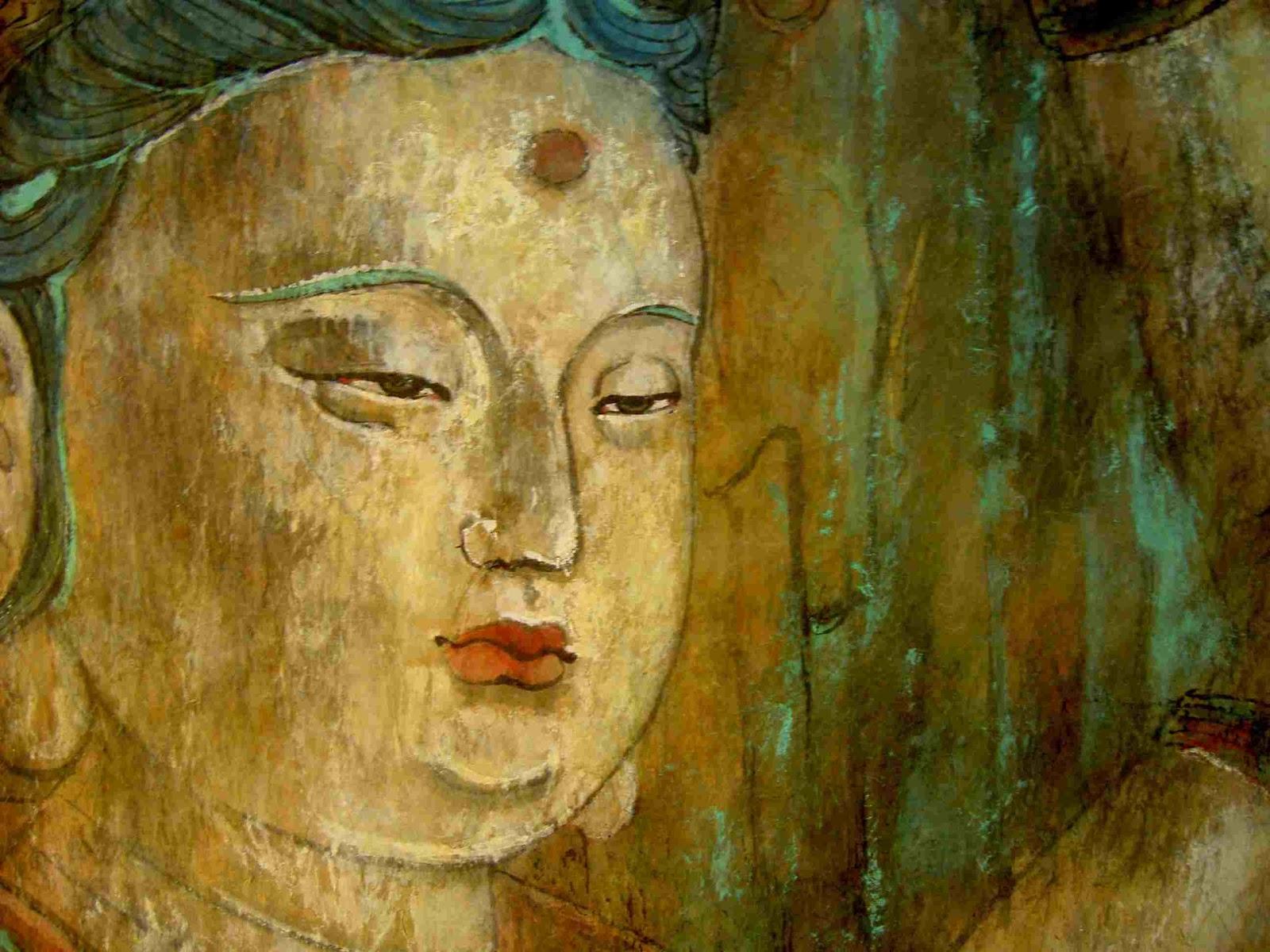 LILING'S WORKS: 佛畫系列07年初創作品