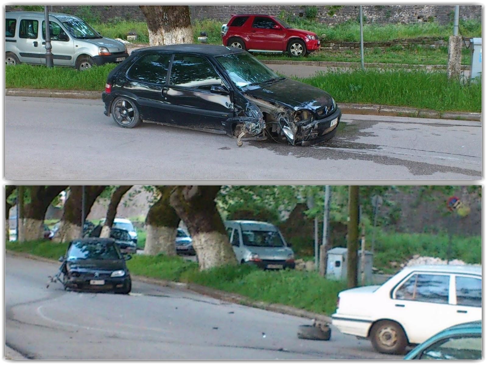 Ιωάννινα: Πρόσκρουση αυτοκινήτου σε άλλο σταθμευμένο στον Παραλίμνιο