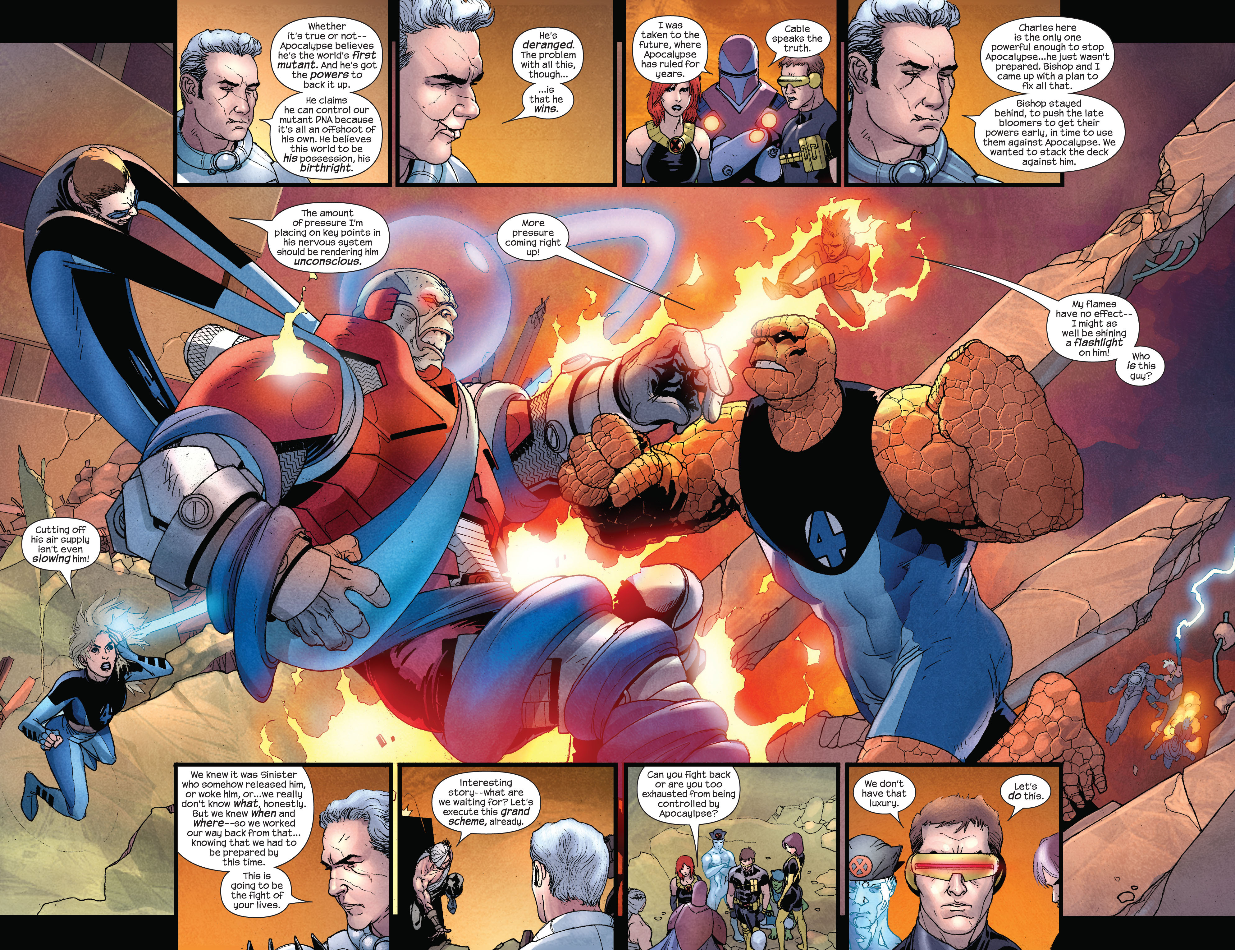Read online Ultimate X-Men comic -  Issue #92 - 5