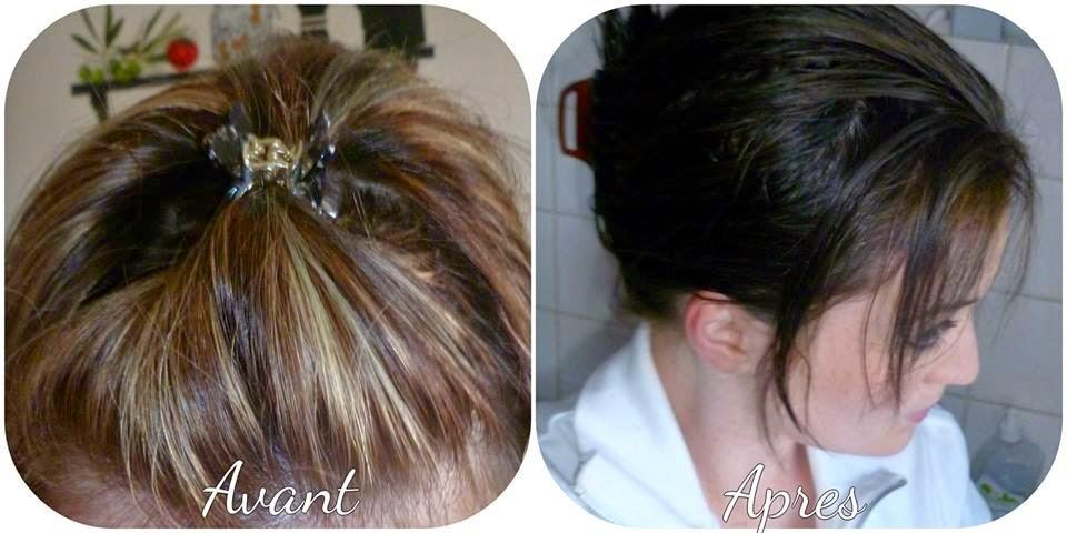 Coloration naturelle sur cheveux colores chimiquement