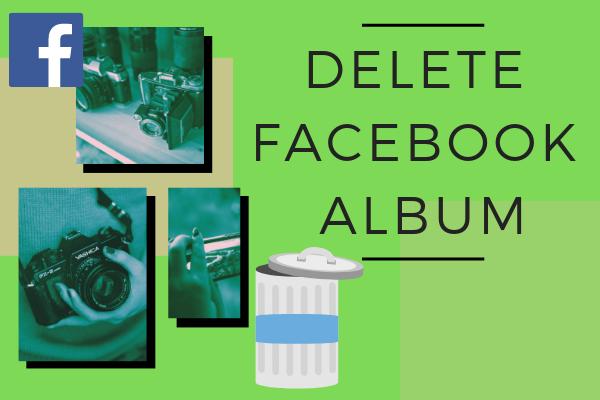 Delete Facebook Album
