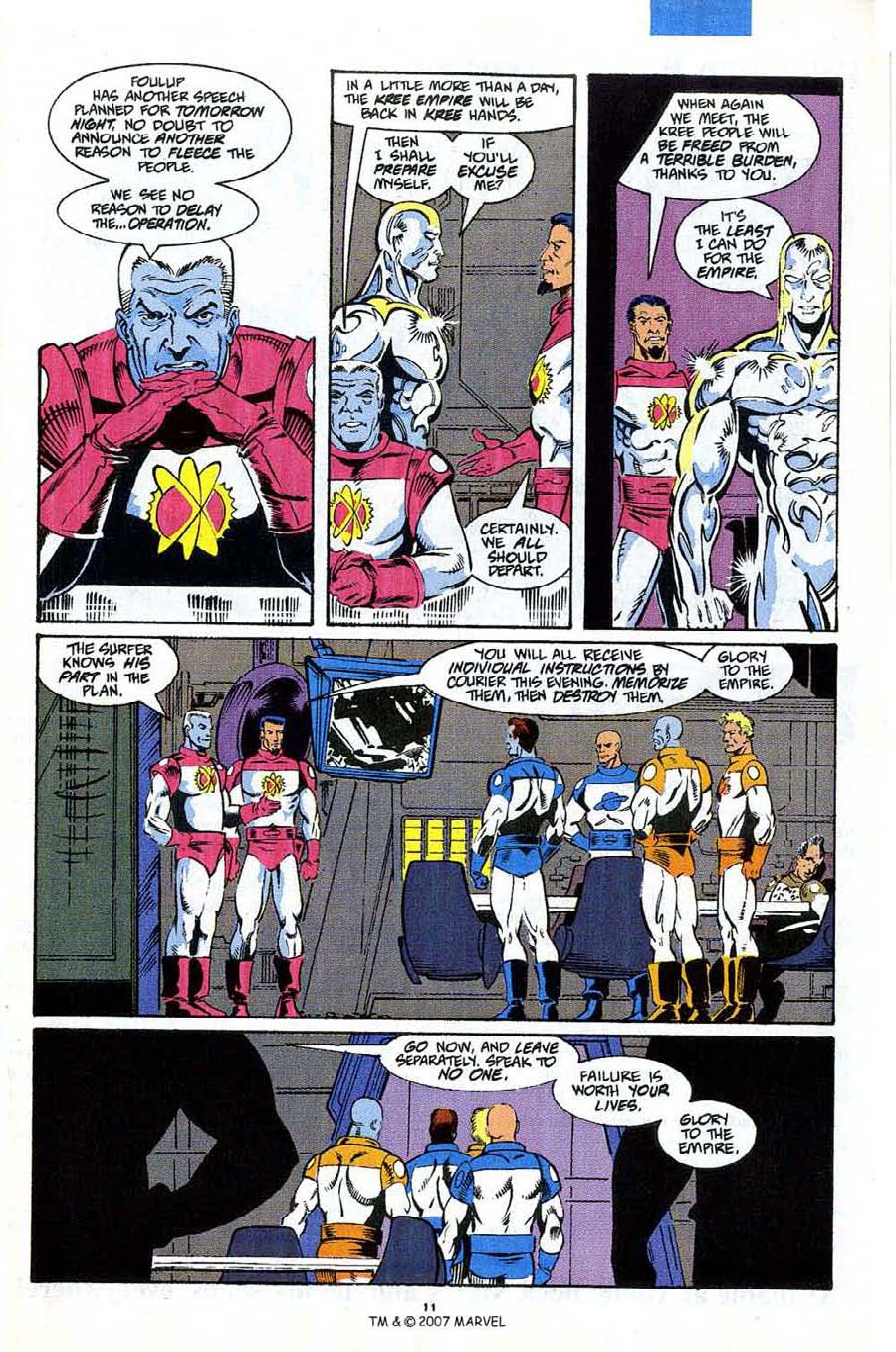 Read online Silver Surfer (1987) comic -  Issue #53 - 13