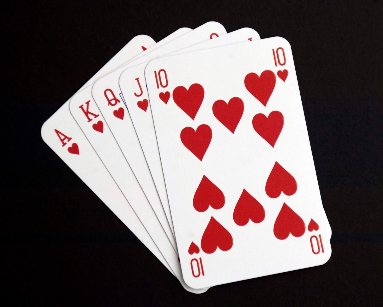 Открытки покер, тебе любимый