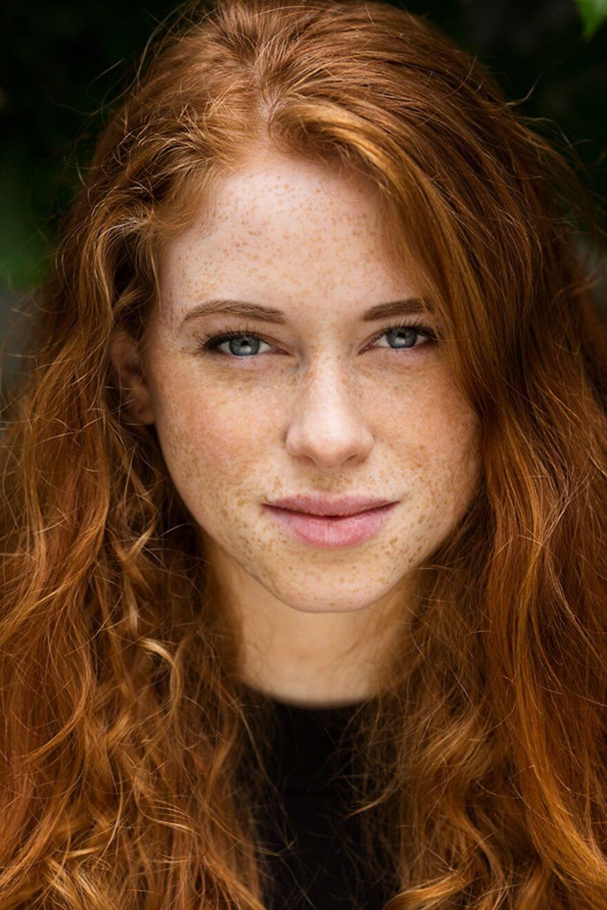 30 Stunning Pictures From All Over The World That Prove The Unique Beauty Of Redheads - Carmen From Best, Netherlands