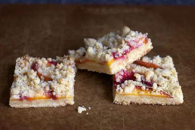 Персиковое печенье с корицей