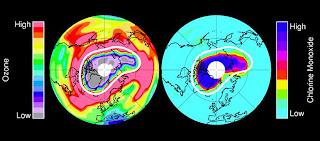 NASA CLIMATE CHANGE EARTH MAP