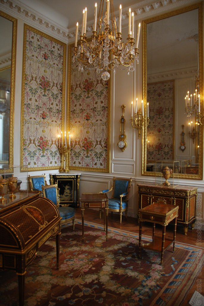 Ornamentsnijder patrick damiaens de zalen decoratieve kunst van de xvii en xviii de eeuw - Stijl van marie antoinette ...