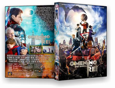 CAPA DVD – O Menino Que Queria Ser Rei – AUTORADO