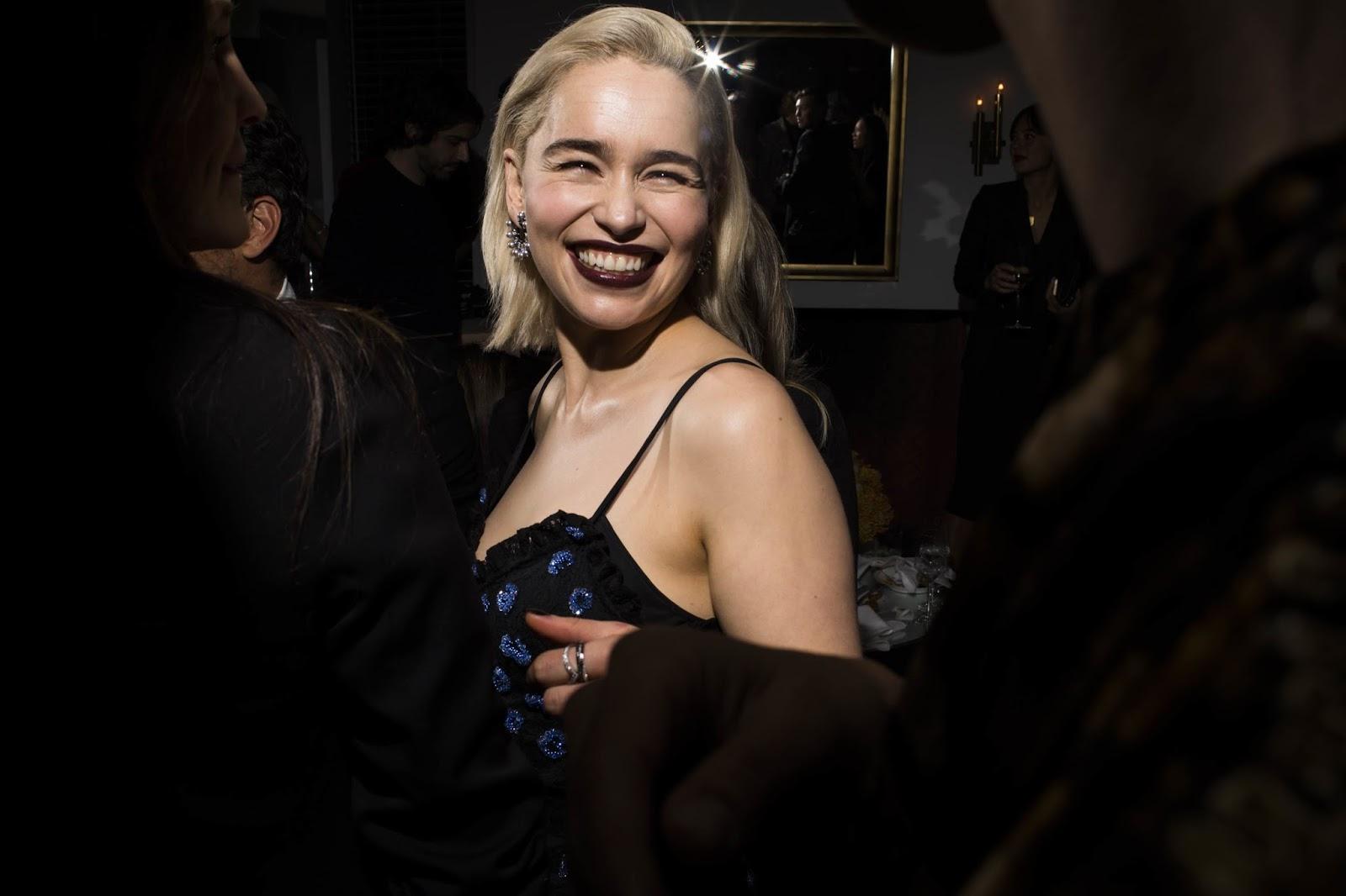 Emilia Clarke Smile 2018
