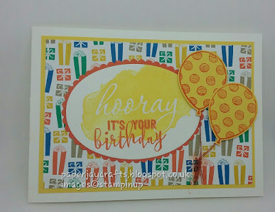 Paperjay Crafts, Party Animals DSP, Balloon Adventures , Reverse Words, Stampin Up