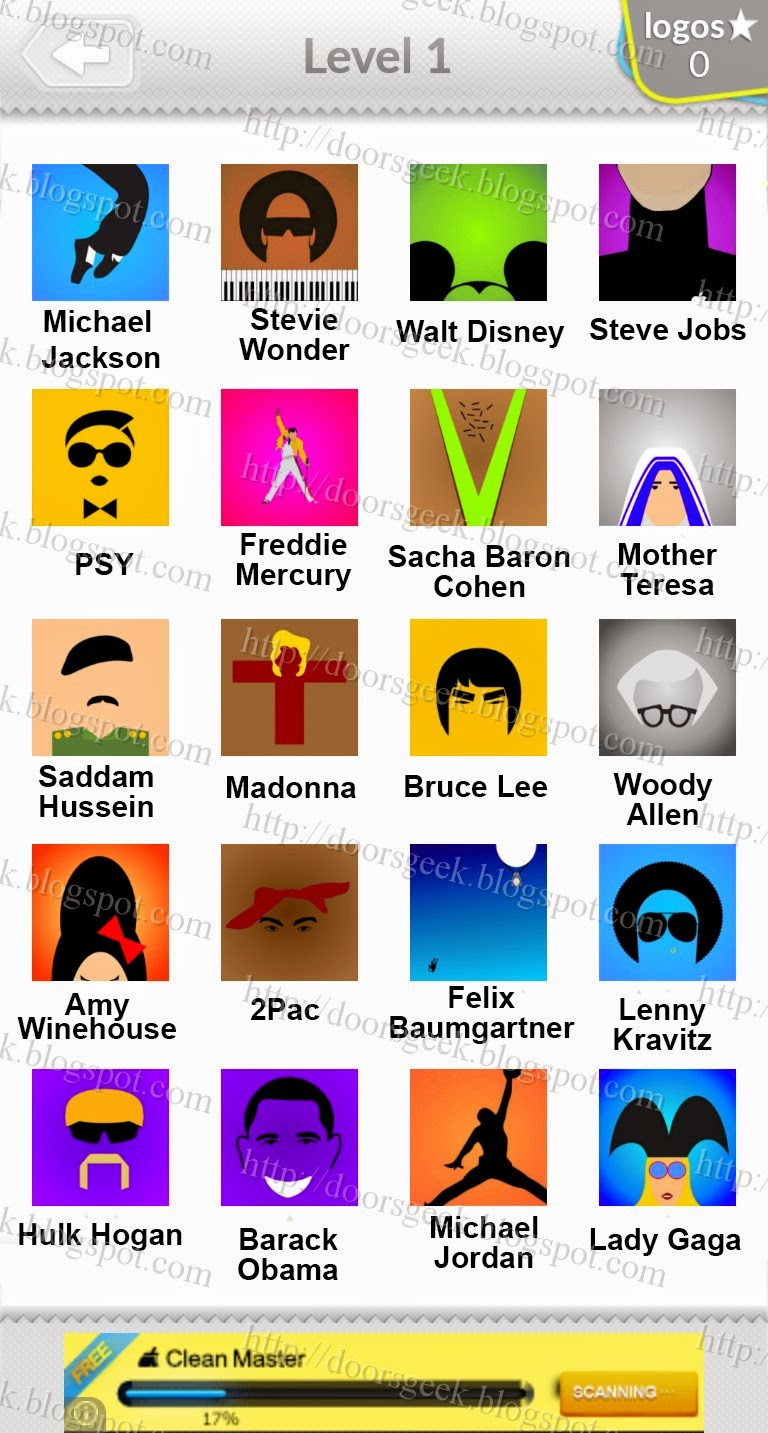 logo quiz guess pop icon level 1 answers by bubble quiz