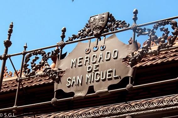 Mercado de San Miguel en Madrid, mas que el oso y el madroño