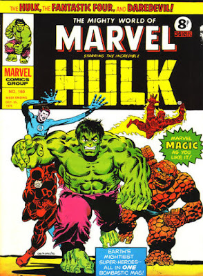 Mighty World of Marvel #160, Jim Starlin cover