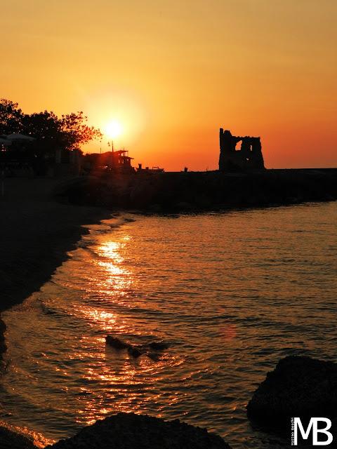 tramonto rocchetta di briatico calabria