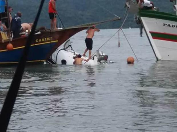 Avião cai em Paraty; ministro do STF estava na lista de passageiros