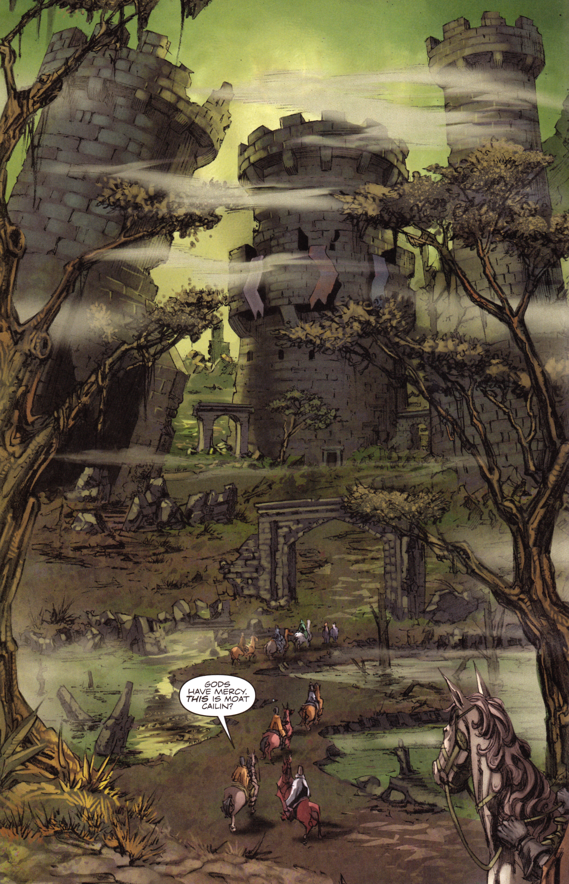Read online A Game Of Thrones comic -  Issue #18 - 4