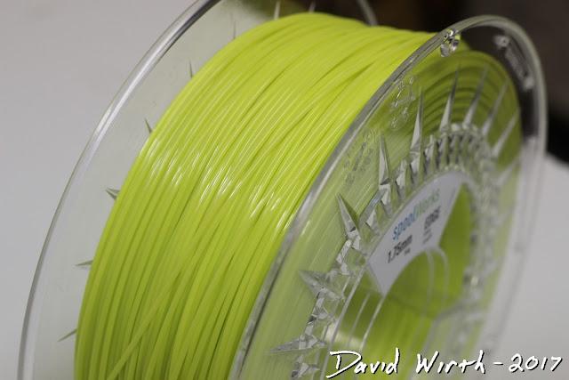 e3d limey green filament