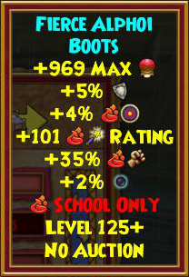 Wizard101 Best Gear - Level 125+ Empyrea Crafted Gear