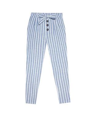 pantaloni estivi con le righe