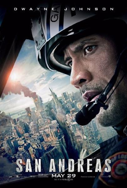 Poster Of San Andreas 2015 Hindi 720p BRRip Dual Audio Full Movie Download