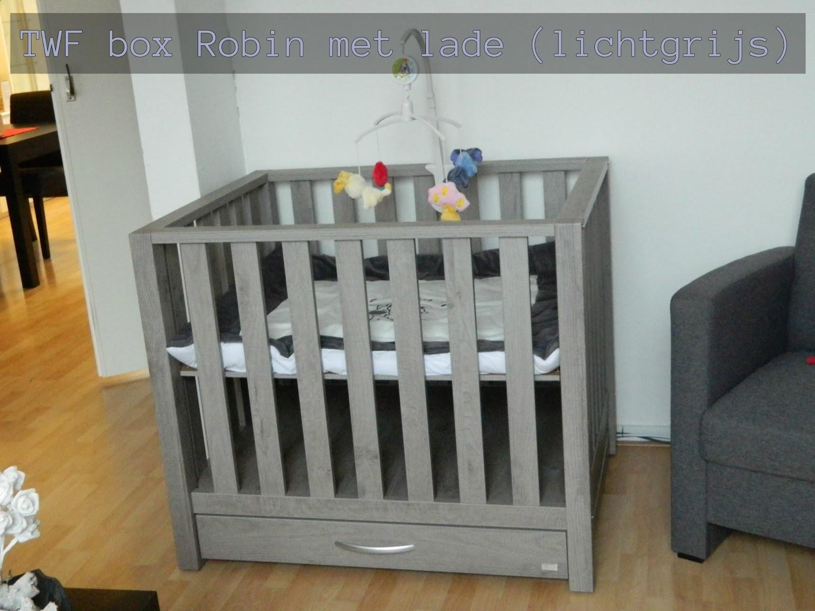 Ongebruikt Mijn leven in beeld: TWF box Robin met lade (lichtgrijs) GE-13