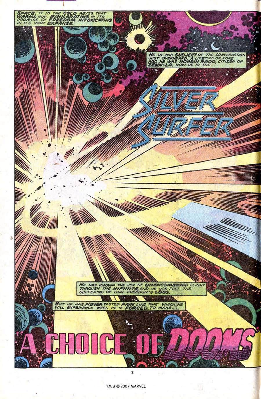 Read online Silver Surfer (1987) comic -  Issue #32 - 4