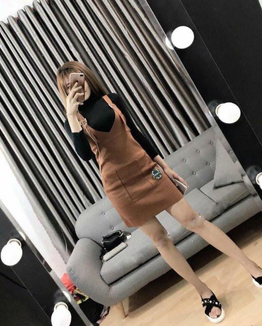 Váy yếm thời trang 4 mùa