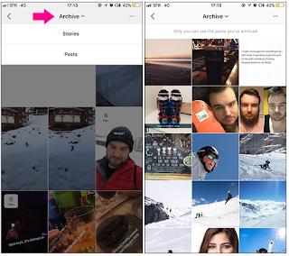 Cara Melihat Foto Yang di Arsipkan di Ig untuk membuka memori foto momen penting anda