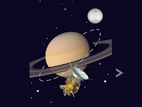 Cassini: Probe incinerates on entry to Saturn