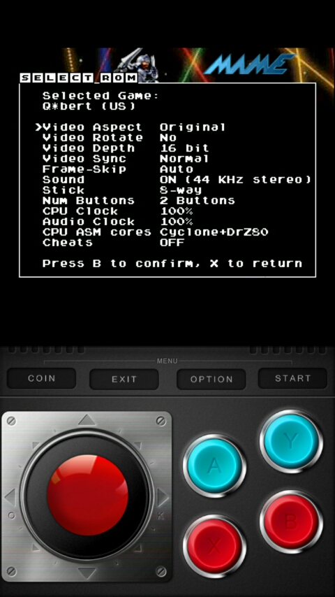 Retro-Android: Playing Mame on Android - MAME4droid (0 37b5) v 1 5 2
