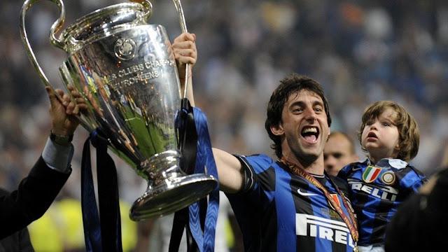Milito Campeón Champions 2010 con el Inter de Milan