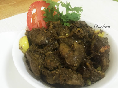 chicken liver pepper roast chicken dish yummy liver fry
