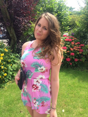 OOTD, Outfit, Summer, In Love With Fashion, Accessorize, Cherry Diva, Playsuit