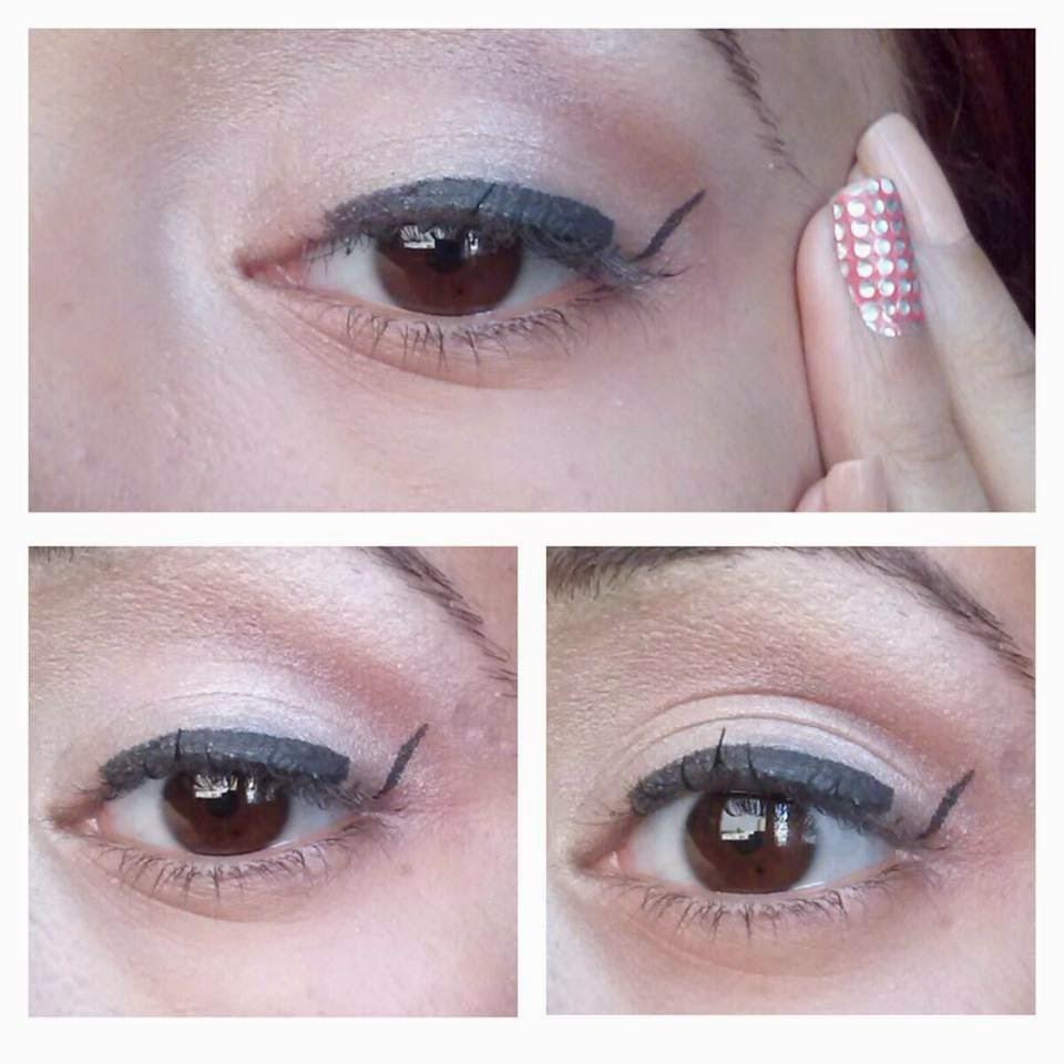 kouni zwina tuto maquillage comment tracer un trait d 39 eyeliner. Black Bedroom Furniture Sets. Home Design Ideas