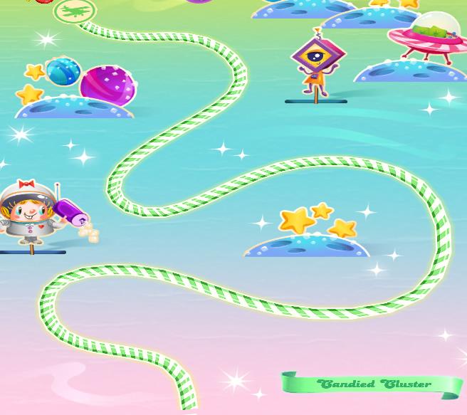 Candy Crush Saga level 4236-4250