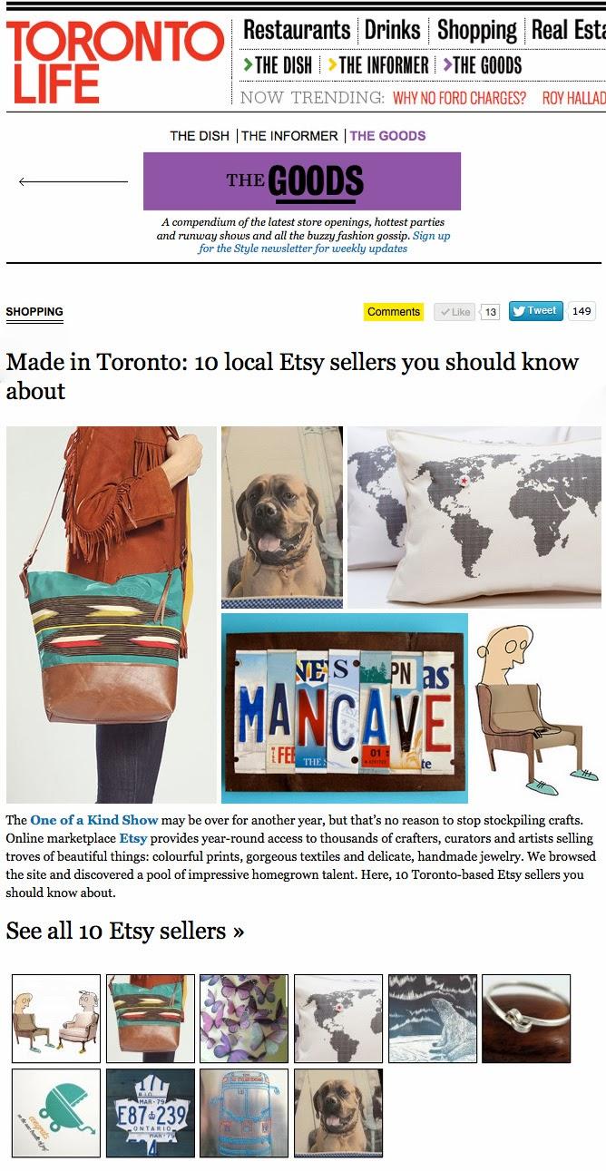 Toronto Etsy Street Team: A little press: Toronto Etsy