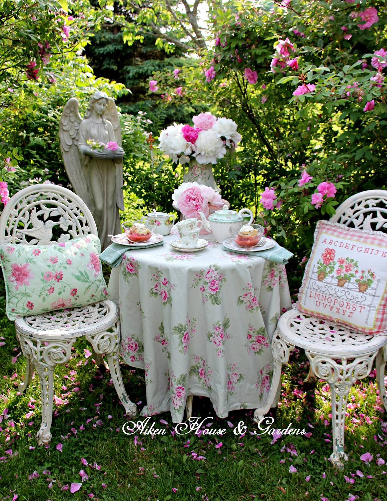 Aiken House Amp Gardens Summer Garden Tablescapes