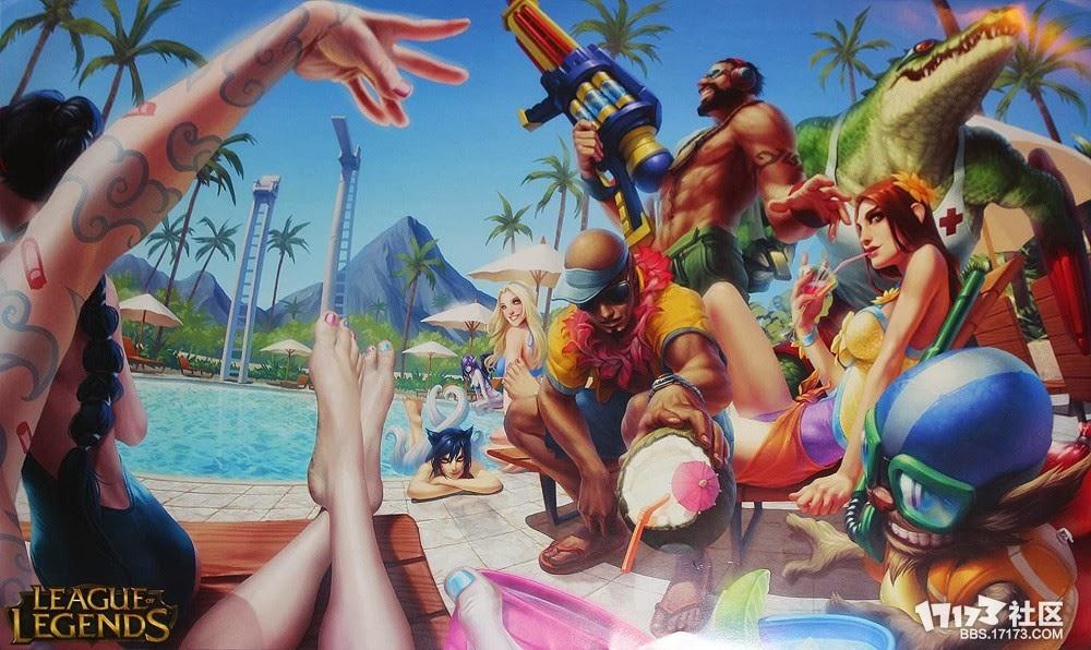 Fan Art tiệc bể bơi!!