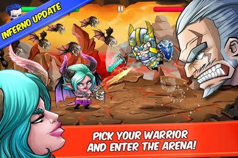 Tiny Gladiators v 2.4.4 apk mod BOTS NÃO ATACAM