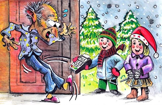 #Χριστούγεννα #Πρωτοχρονιά με POS στα κάλαντα