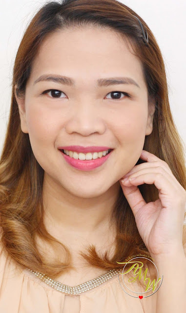 a photo of Eden's Paradise Lip Custard Cream in Winterberry.  Nikki Tiu