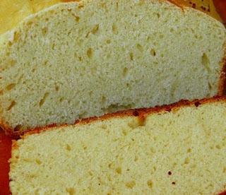 Foto do pão caseiro pronto para ser consumido.